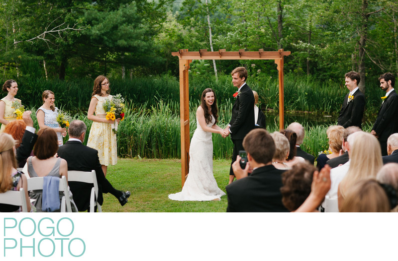 Upper Valley Wedding Photographer at Dowds' Country Inn