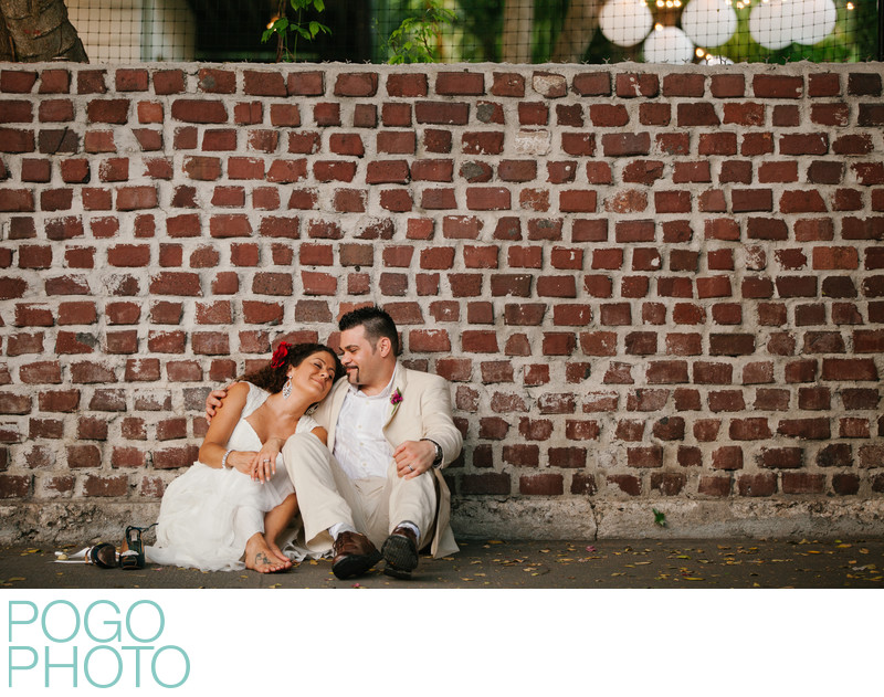Adorable Bride and Suave Groom, Key West Photographer