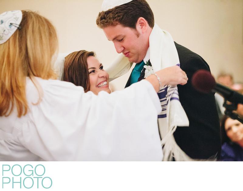 Miami Photographer at Jewish Wedding, South Beach Hotel