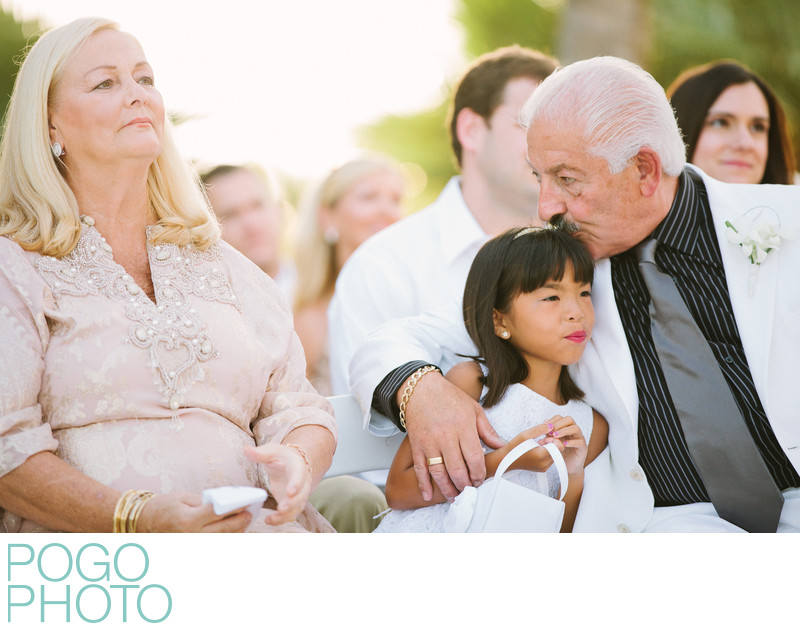 Sentimental Moment Photographed at Vero Beach Wedding