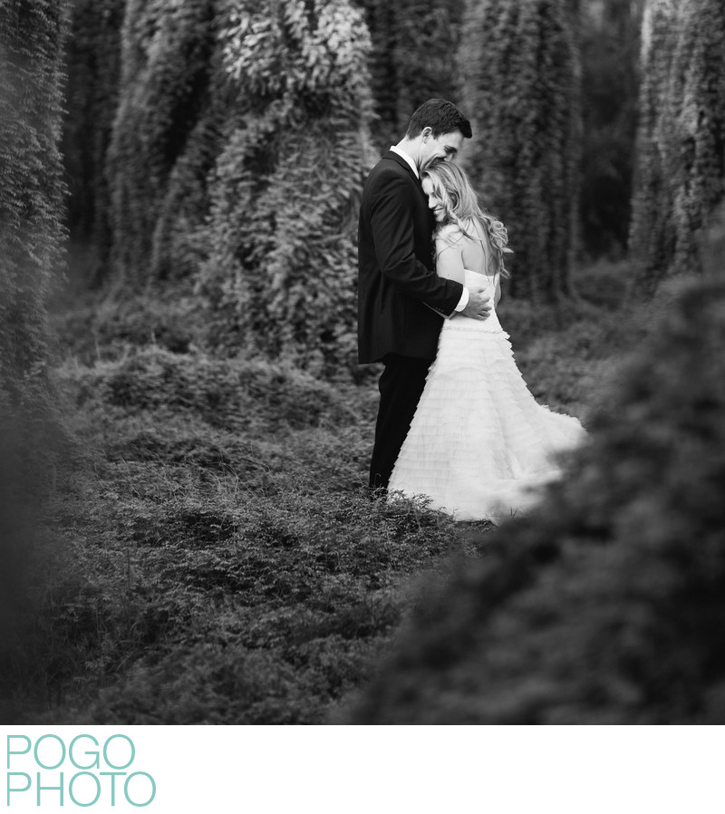 Romantic fairytale wedding portraits in Jupiter, FL