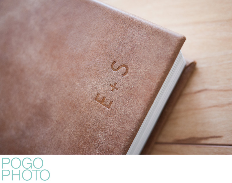 Pogo Photo Art Book with Blind Embossed Cover Initials