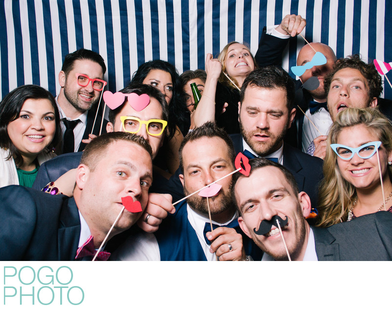 PogoBooth Shenanigans at West Palm Beach Wedding