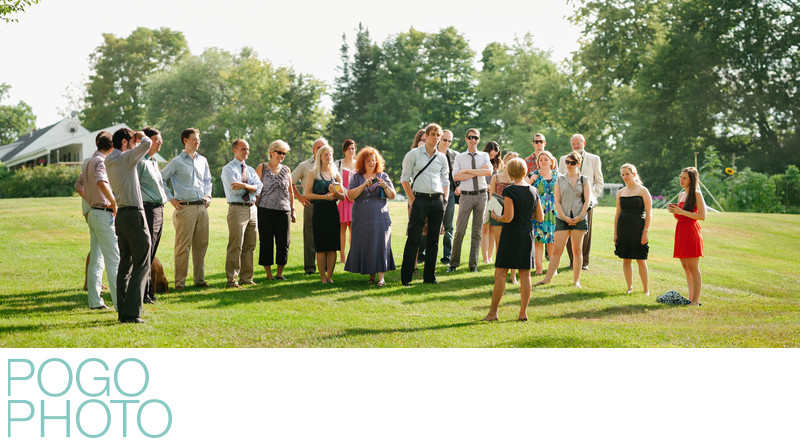 Wedding Rehearsal Coverage at Dowds' Country Inn