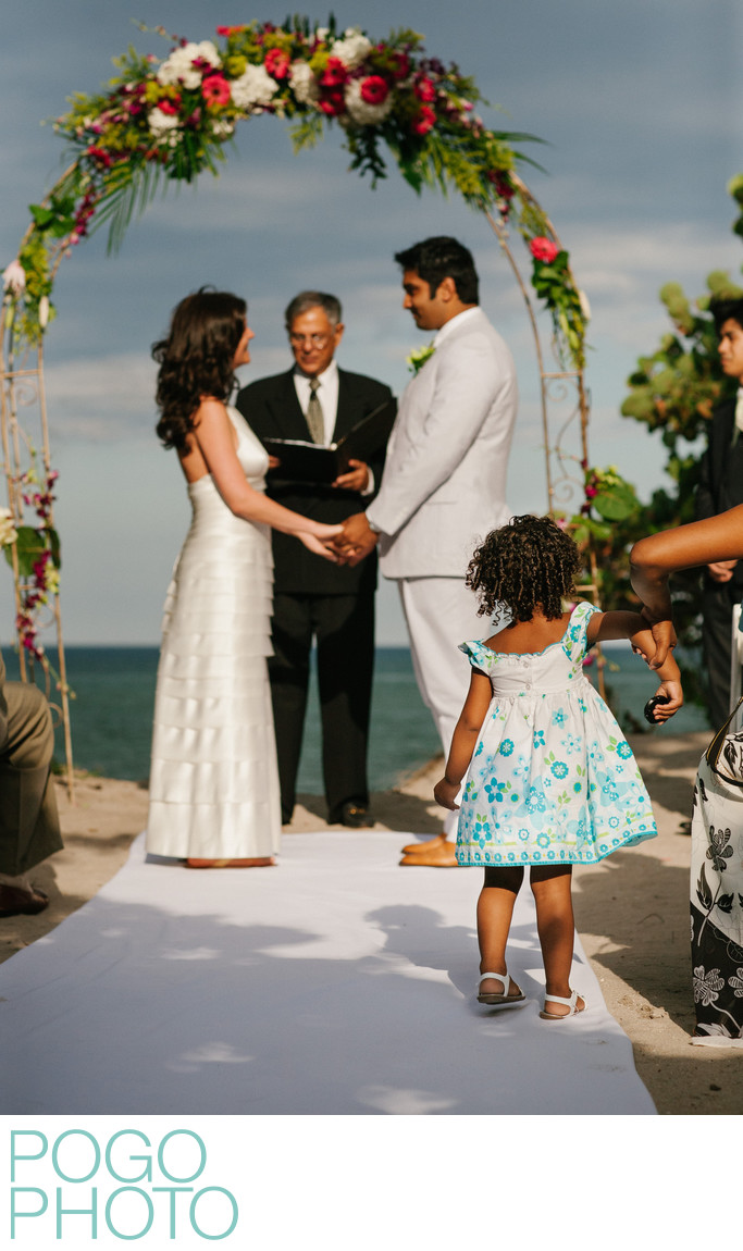 Youngest Wedding Guest Held Back From Interrupting Vows