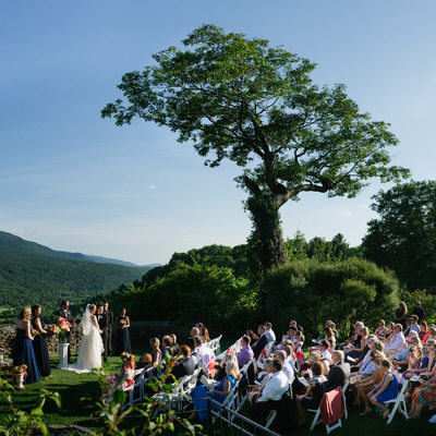Hildene Wedding Ceremony and Garden Photography