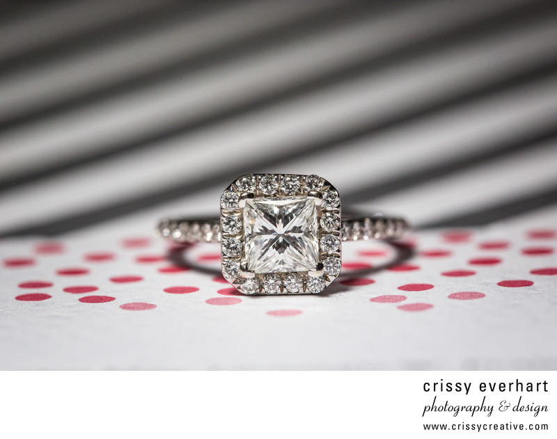 Engagement Ring - Wedding Day Details