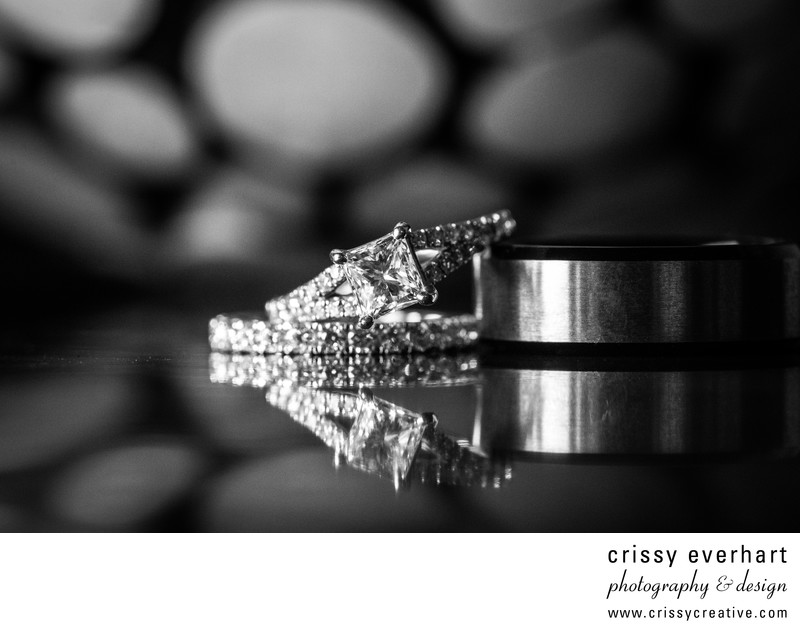 Wedding photography rings  New Jersey Wedding Photographer - Rings with Reflection ...
