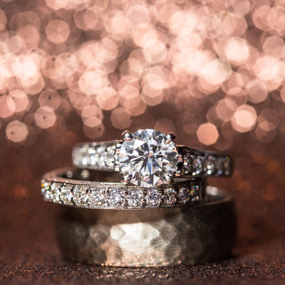 Philadelphia Wedding Photographer - Ring Macro Sparkles