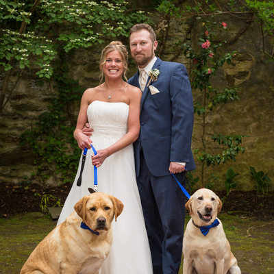 Photographer Who Likes Dogs - Old Mill Wedding