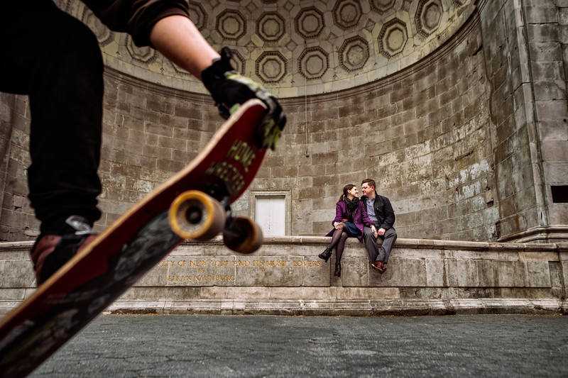 Creative Engagement Photography in New York
