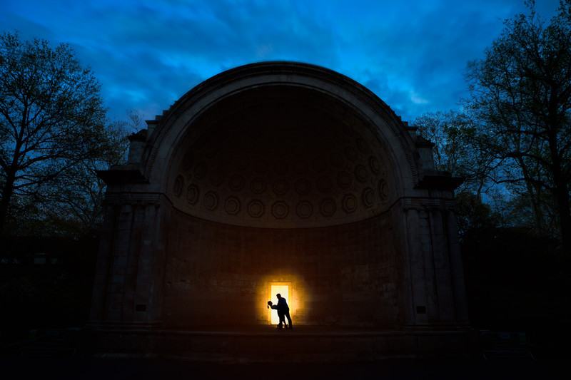 Creative Engagement Photographer, Central Park NYC