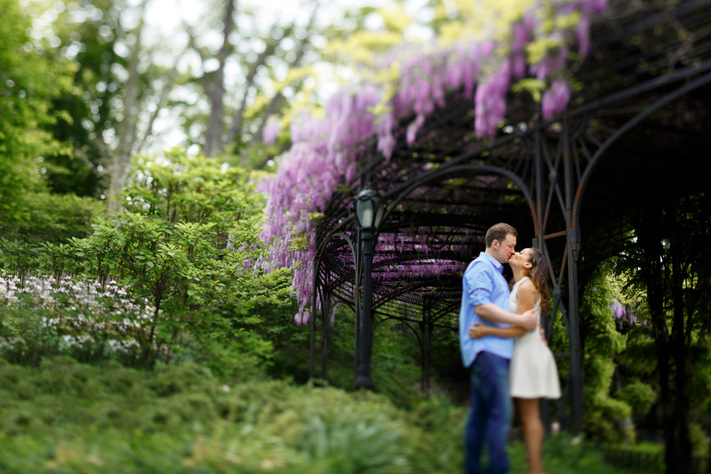 Summer Engagement Shoot in Central Park New York