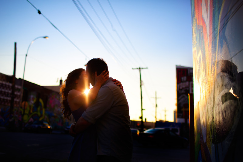 Bushwick Collective Brooklyn Engagement Session