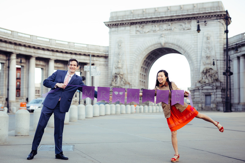 Chinatown Manhattan Engagement Session