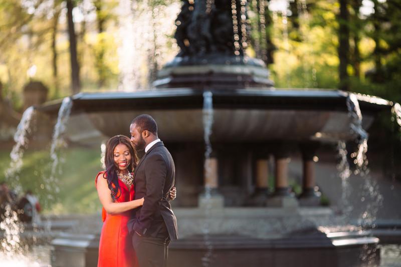 Beautiful Central Park Engagement