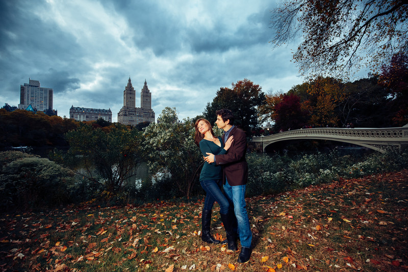 Fun Engagement Shoot Central Park NYC