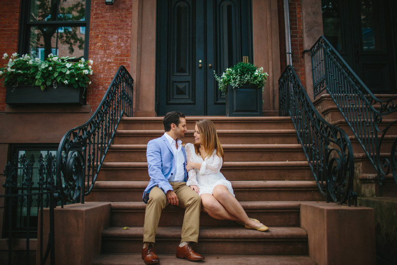 Brooklyn Heights Engagement Photography