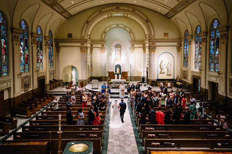 Church Wedding Ceremony Brooklyn Wedding Photographer