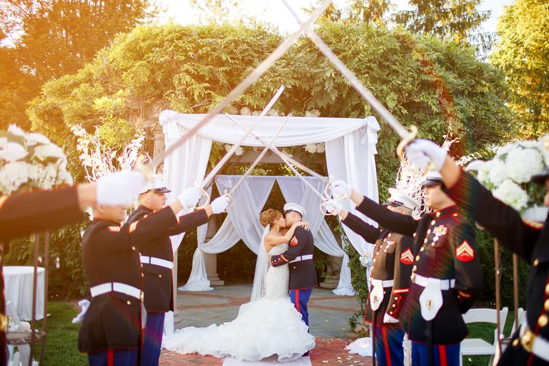 New York Marine Wedding Photos