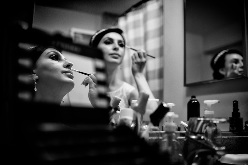 Washington DC Wedding Getting Ready Photos of Bride