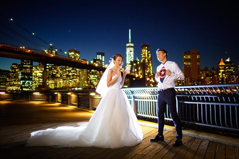 Dumbo Wedding Photos | NYC Photographer