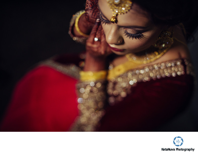 Getting Ready Indian Wedding Photography NJ Ny