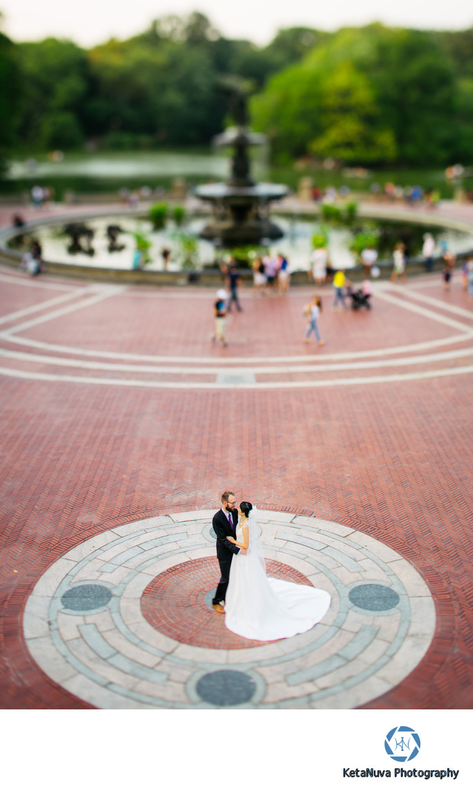 Bethesda Terrace Central Park Wedding Photos