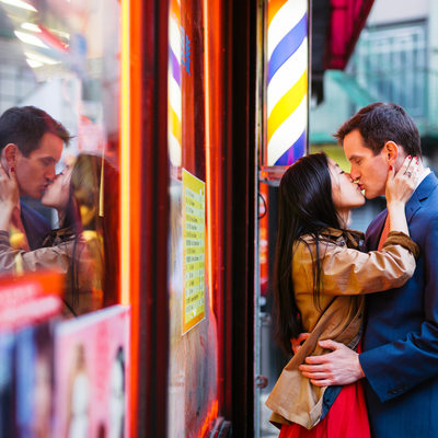 New York Chinatown Engagement Photography