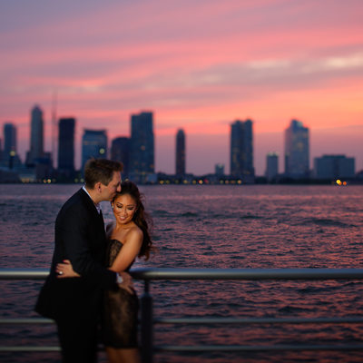 Hudson River Park NYC Engagement Photographer