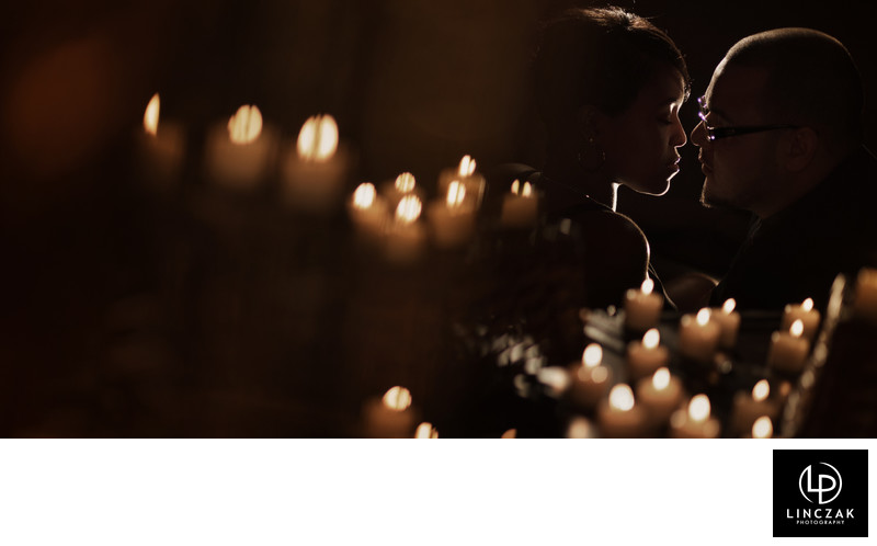 dramatic cleveland wedding photography