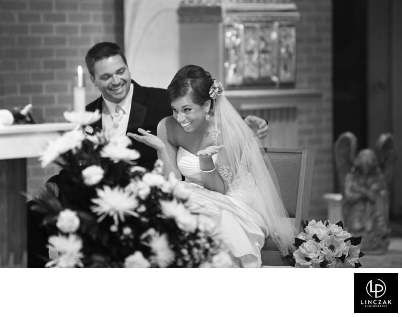 photojournalistic wedding coverage