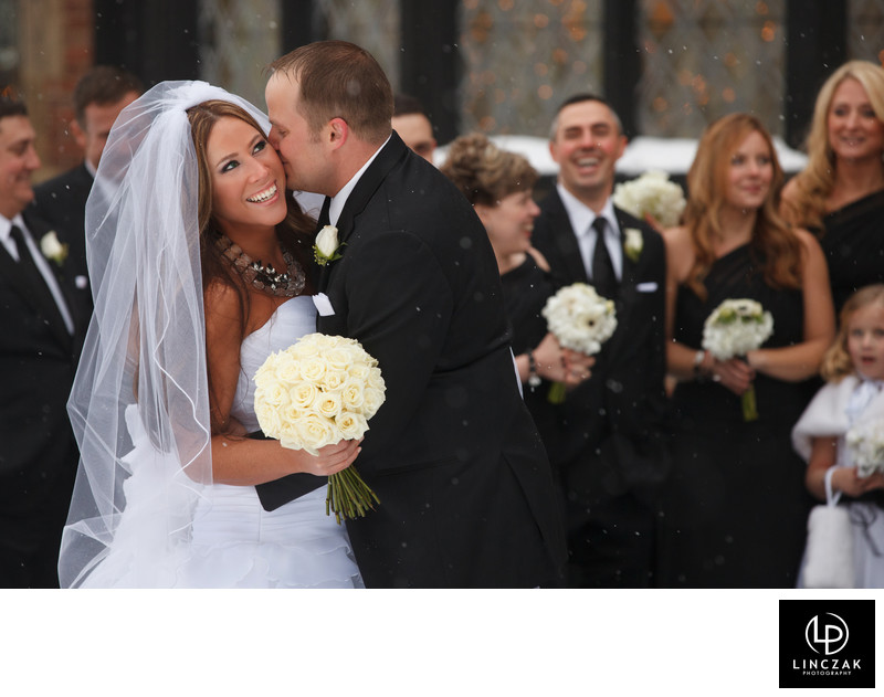 stan hywet winter wedding
