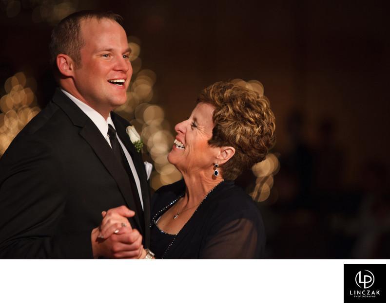 mom and son wedding dance