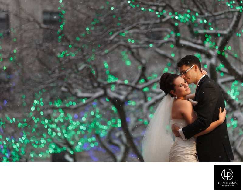 christmas cleveland weddings