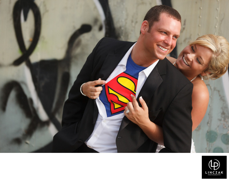 superman groom
