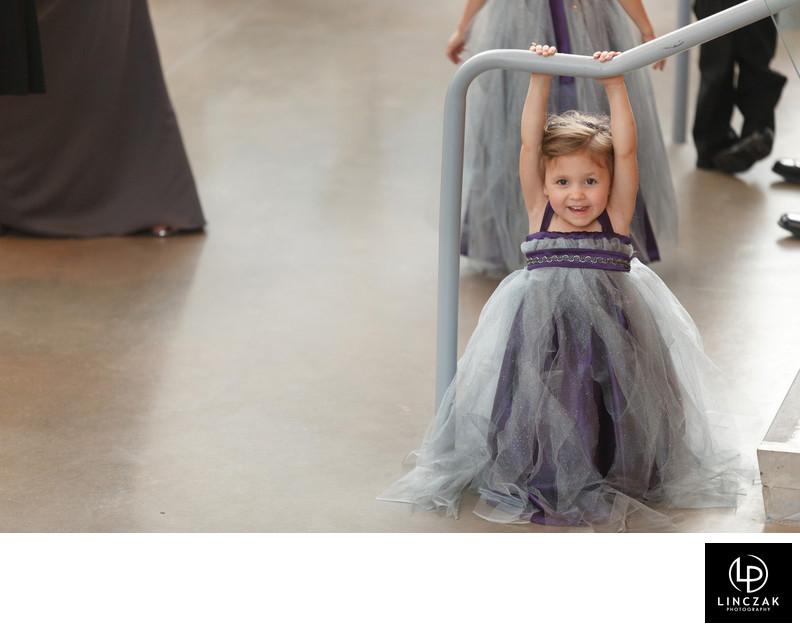 cute kids at wedding