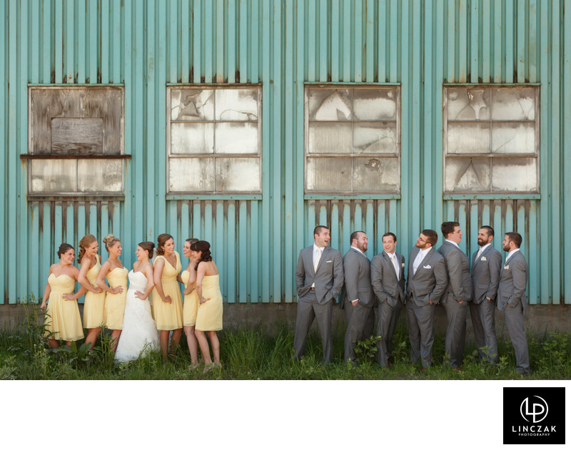 best cleveland bridal party photos