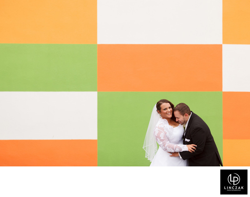 cool wedding photos from cleveland