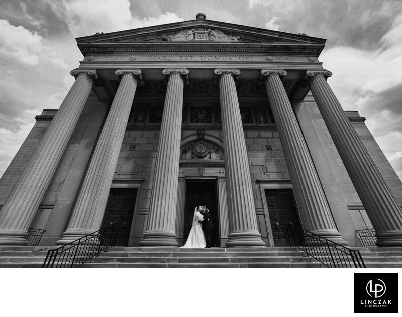 dramatic cleveland weddings