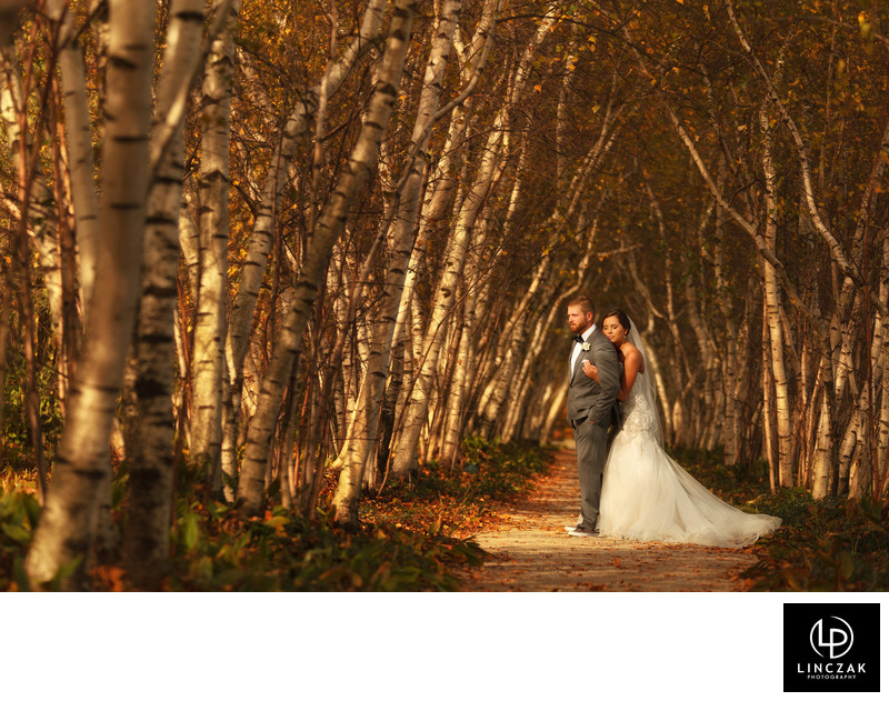 stan hywett hall fall wedding