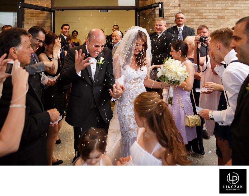 joyful wedding photos