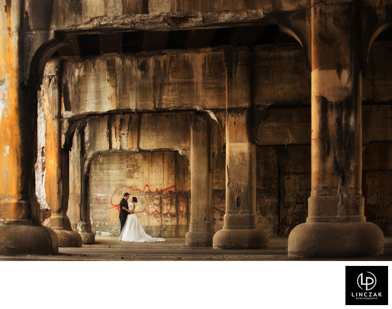 urban cleveland wedding photos