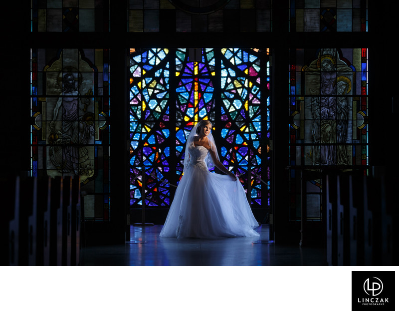 indoor cleveland wedding photos
