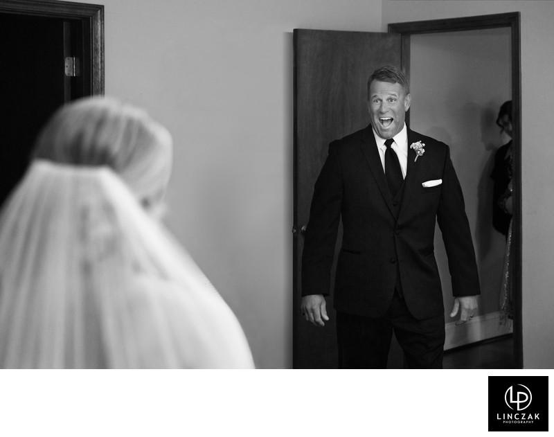 wedding dad first look