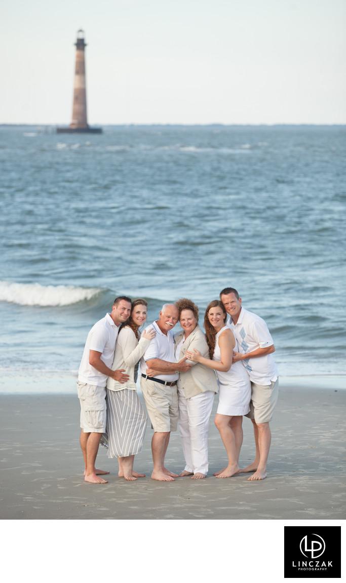 lake erie family photo