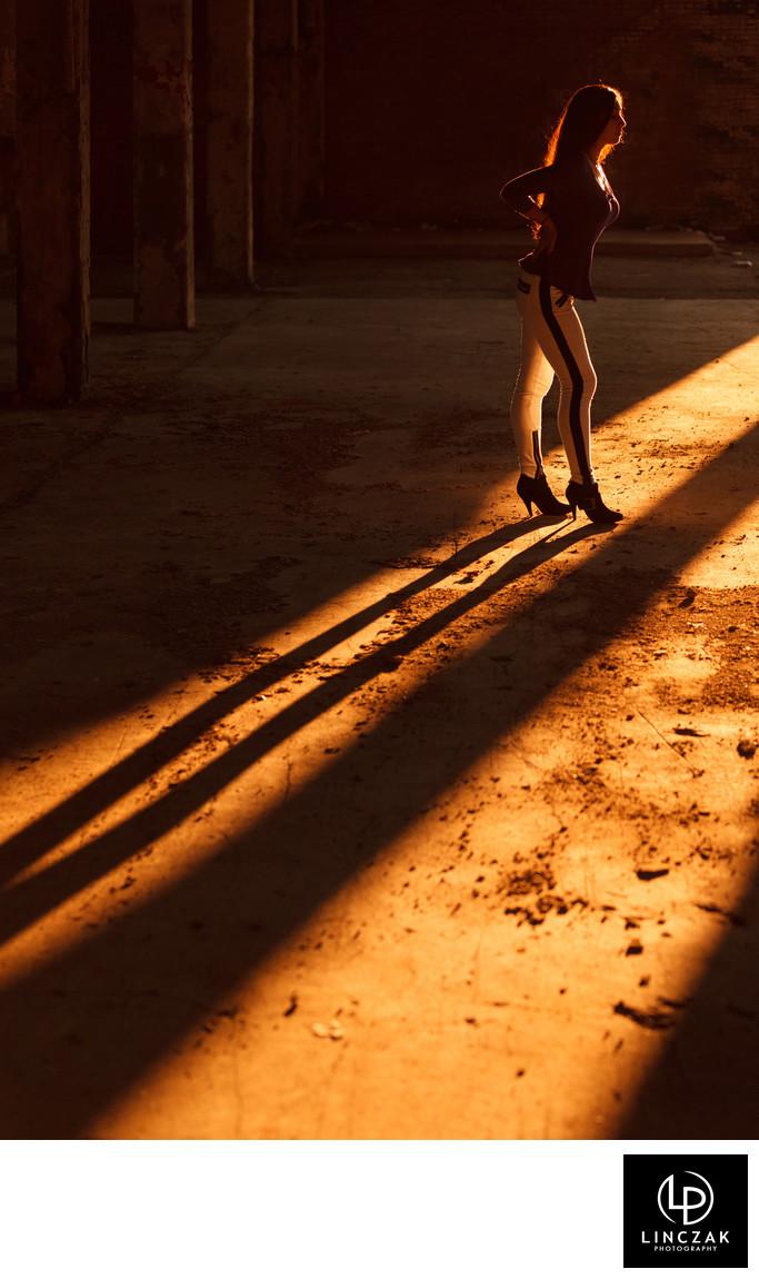 shadow portait