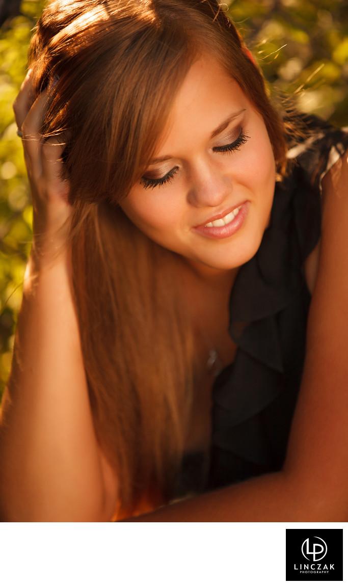 pretty senior portrait