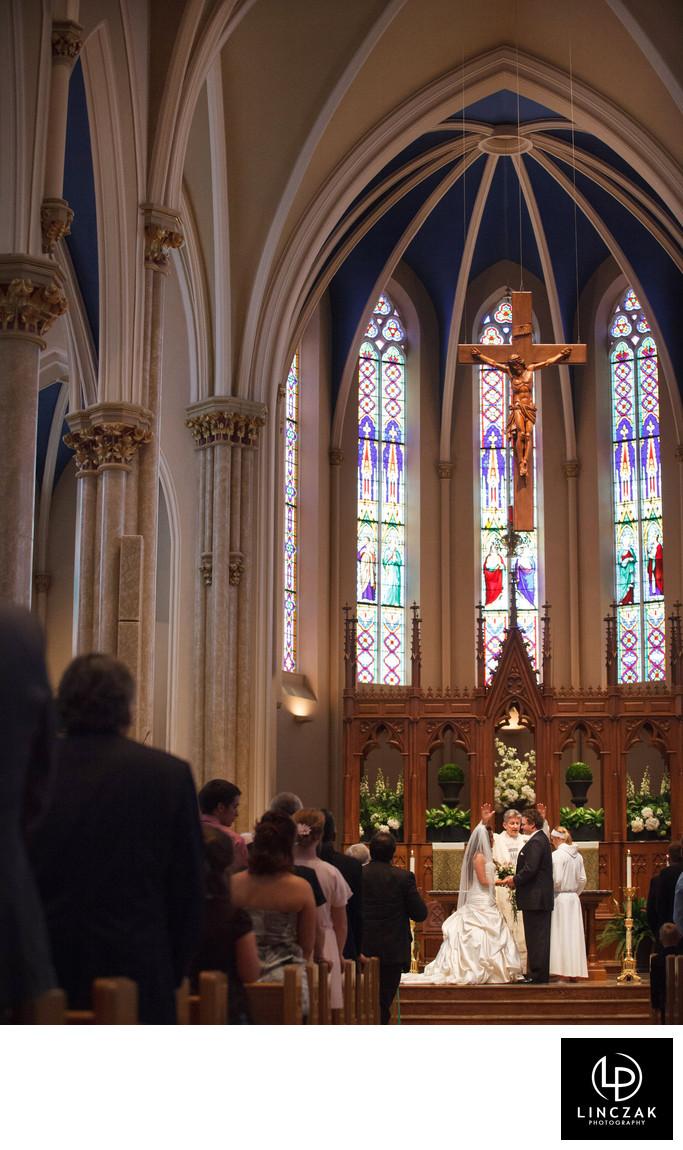 historic cleveland church wedding