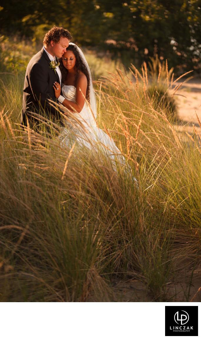 summer wedding in cleveland
